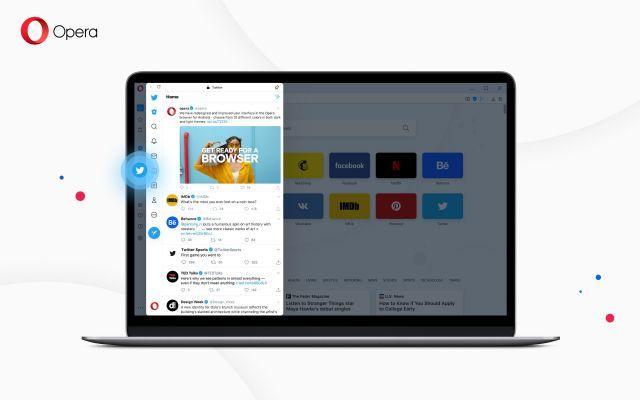 Opera se posiciona como el navegador más social media al incorporar Twitter a su barra lateral - 1, Foto 1