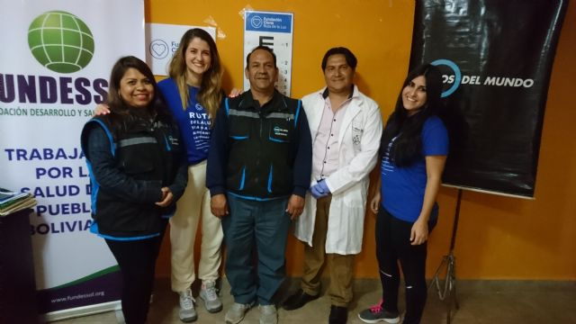 La Fundación Cione Ruta de la Luz vuelve a Bolivia - 1, Foto 1