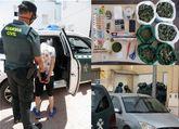 Desmantelan un punto de venta de droga al menudeo en un domicilio de Totana