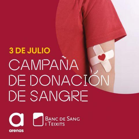 Arenas de Barcelona llevará a cabo una campaña de donación de sangre en colaboración con el Banc de Teixits - 1, Foto 1