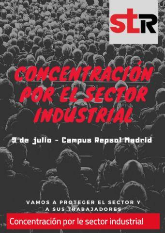 El Sindicato de Trabajadores concentra en Madrid al sector industrial a favor de los trabjadores - 1, Foto 1