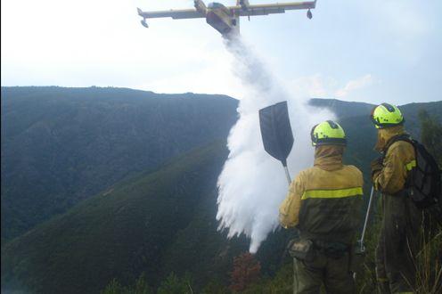 El MITECO actúa en 10 incendios con 23 medios aéreos y 4 brigadas de extinción - 1, Foto 1
