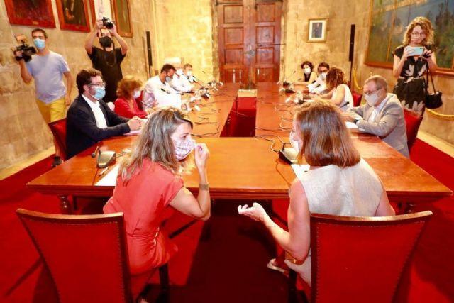 Yolanda Díaz anuncia una Mesa extraordinaria del Diálogo Social en Illes Balears para abordar la situación laboral y la prórroga de los ERTE - 1, Foto 1