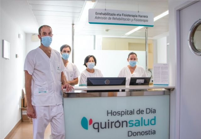 El Servicio de Rehabilitación de Policlínica Gipuzkoa se centraliza en Hospital de Día Quirónsalud Donostia - 1, Foto 1