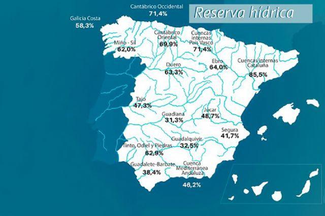 La reserva hídrica española se encuentra al 48,3 por ciento de su capacidad - 1, Foto 1