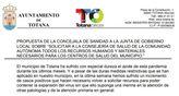 La concejala de Sanidad sale al paso de la nota de prensa del PSOE