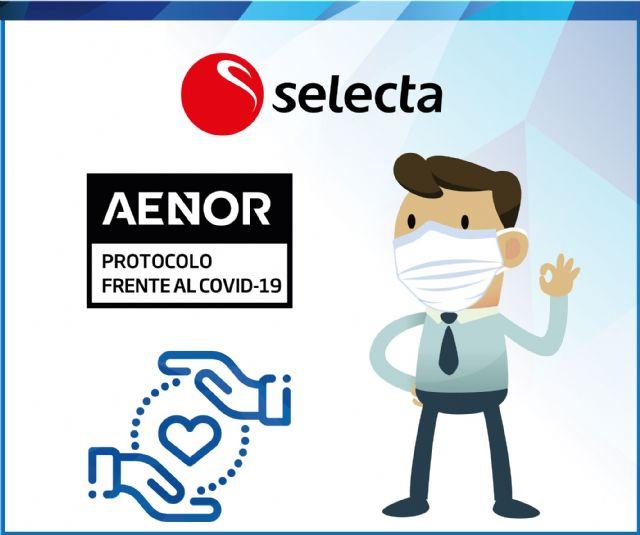 AENOR respalda las buenas prácticas de SELECTA en la gestión del coronavirus - 1, Foto 1