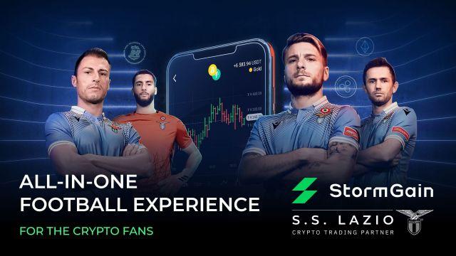 StormGain firma una asociación de larga duración con la SS Lazio, club de la Serie A - 1, Foto 1