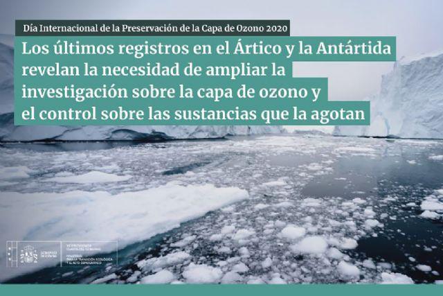 Los últimos registros en el Ártico y la Antártida revelan la necesidad de ampliar la investigación sobre la capa de ozono y el control sobre las sustancias que la agotan - 1, Foto 1