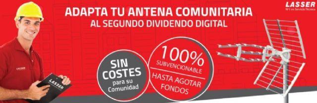 Lasser, antenista en Madrid experto en adaptar el Dividendo Digital antes de octubre - 1, Foto 1