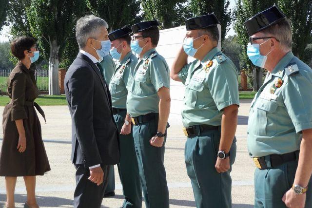 Grande-Marlaska inaugura el curso académico 2020-2021 en la Academia de Oficiales de la Guardia Civil en Aranjuez - 1, Foto 1