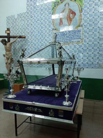 El Santo Sepulcro de Villaviciosa (Asturias) es restaurado en Totana - 5