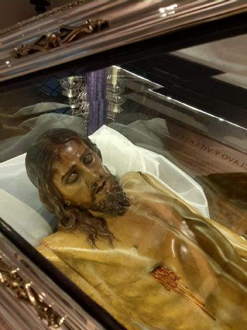 El Santo Sepulcro de Villaviciosa (Asturias) es restaurado en Totana - 17