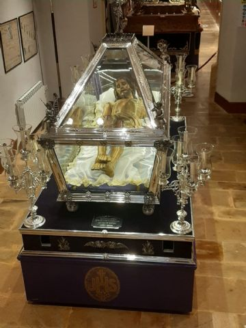 El Santo Sepulcro de Villaviciosa (Asturias) es restaurado en Totana - 19