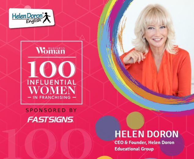 Helen Doron, nombrada cuarta mujer más influyente en el mundo de las franquicias durante el año 2020 - 1, Foto 1
