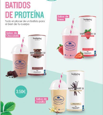 IceCoBar introduce en sus establecimientos los famosos batidos de proteínas FoodSpring - 1, Foto 1