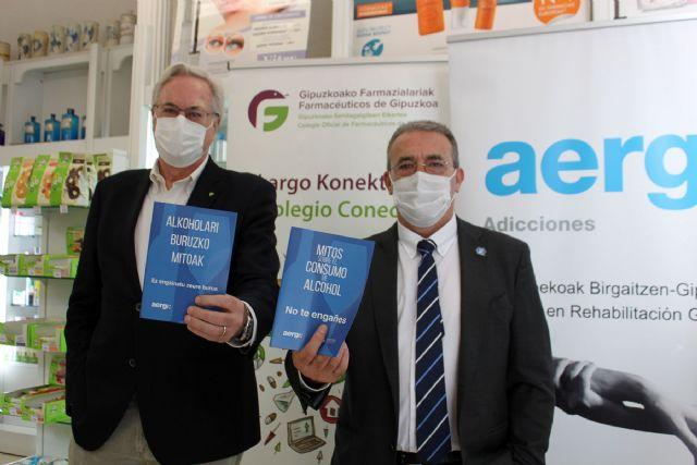 AERGI y el COF Gipuzkoa celebran el Día Sin Alcohol con una campaña centrada en los mitos sobre su consumo - 1, Foto 1