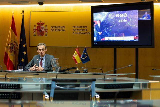 Duque preside la firma de un contrato entre Airbus y la ESA que permite a España liderar por primera vez una misión del Programa Copernicus - 1, Foto 1