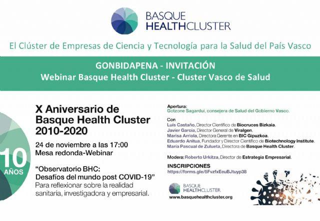 Desafíos del mundo post-COVID 19: análisis de la realidad sanitaria, investigadora y económica de Euskadi - 1, Foto 1