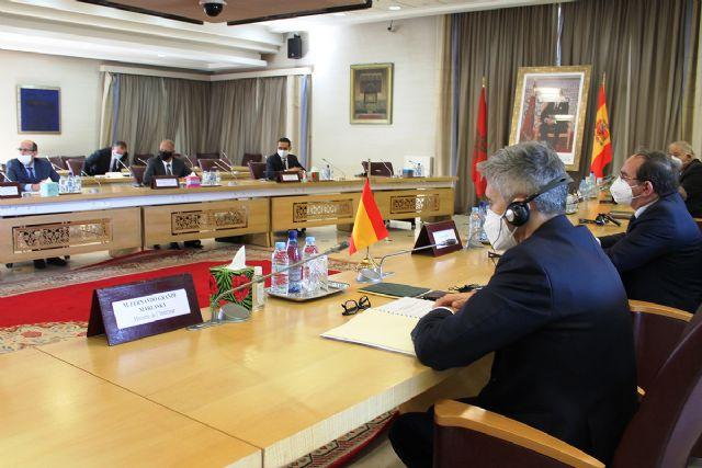 Grande-Marlaska refuerza en Marruecos la cooperación en materia migratoria, especialmente en la ruta hacia las Islas Canarias - 1, Foto 1