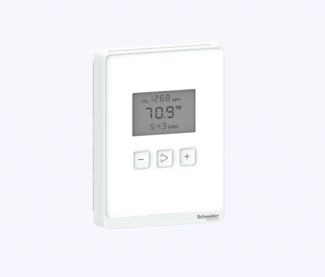 Schneider Electric lanza dos gamas de multisensores para garantizar la calidad del aire interior - 1, Foto 1