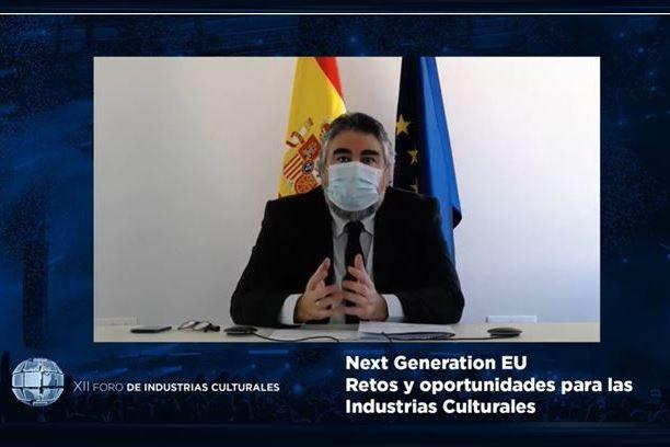 Rodríguez Uribes: La consideración de la cultura como derecho, como industria y como valor es fundamental para dar impulso a las industrias culturales - 1, Foto 1