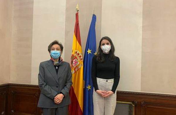 Irene Montero traslada a la embajadora de México su voluntad de construir una amplia alianza feminista internacional y contra los feminicidios - 1, Foto 1
