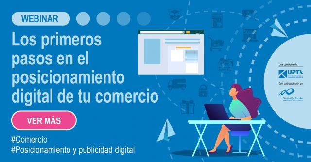 Lanzamiento del webinar: Los primeros pasos en el posicionamiento digital de un comercio - 1, Foto 1