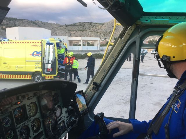 Fallece un escalador tras caer desde una altura de 30 m en el Peñón de Ricote - 1, Foto 1
