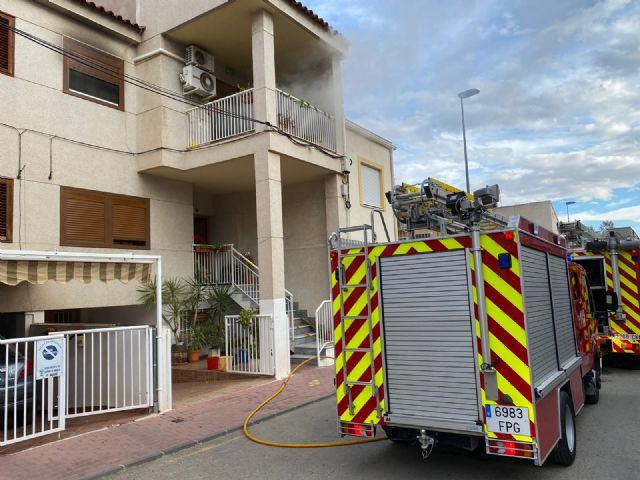 Incendio de una vivienda de Alhama - 1, Foto 1