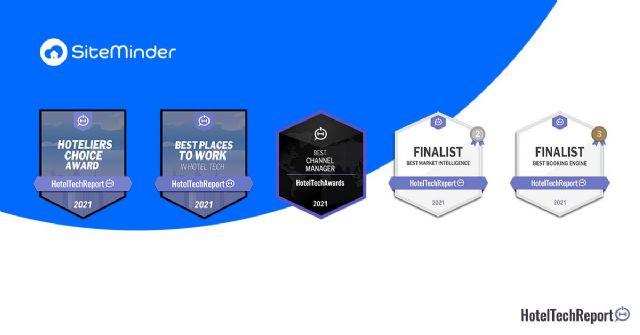 Siteminder copa los premios HotelTechAwards - 1, Foto 1