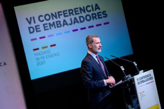 El Rey clausura la VI Conferencia de Embajadores con el reconocimiento a la labor de todo el personal destinado en el exterior - 1, Foto 1
