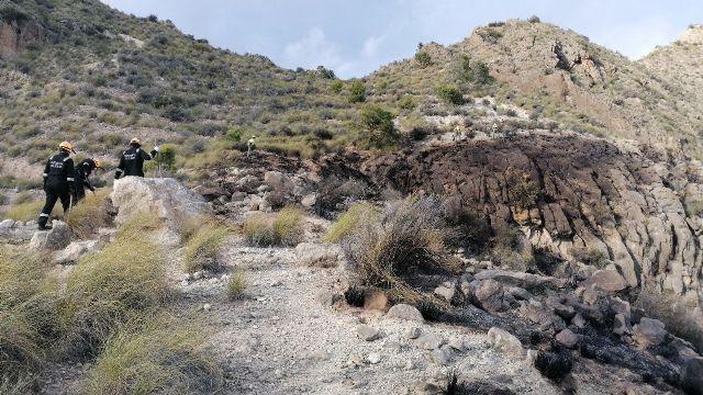 Efectivos del Infomur apagan un conato de incendio forestal en Ulea - 1, Foto 1