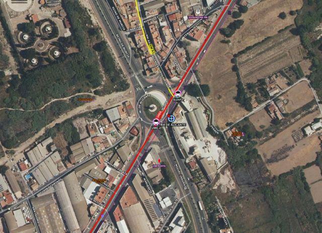 Tres heridos en un accidente de tráfico en Murcia - 1, Foto 1