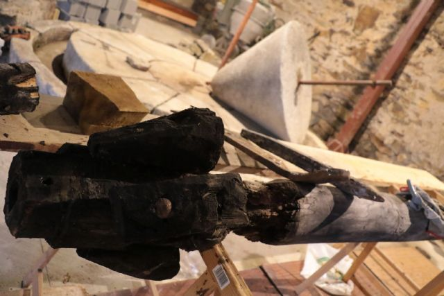 A punto de concluir la recuperación de la Almazara de Muriel - 1, Foto 1