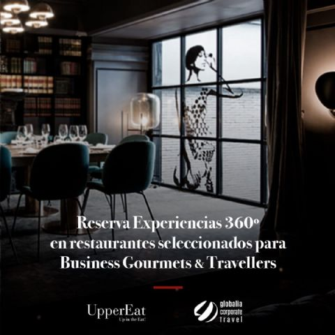 UpperEat ofrece los restaurantes de su plataforma digital a los 9.000 clientes de Globalia Corporate Travel - 1, Foto 1