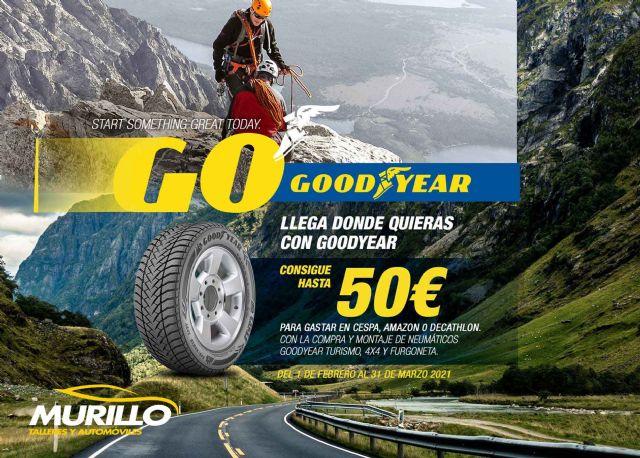 Talleres Murillo y GoodYear se unen para ofrecer una nueva promoción en el cambio de neumáticos - 1, Foto 1