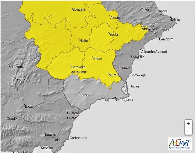 La Agencia Estatal de Meteorología emite para hoy  boletín de aviso amarillo de fenómenos meteorológicos adversos por tormentas - 1, Foto 1