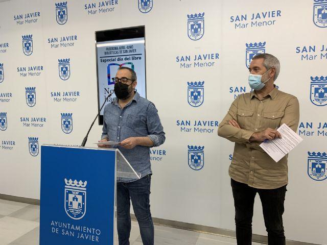 Las bibliotecas de San Javier celebran la primavera con nuevas propuestas culturales - 1, Foto 1