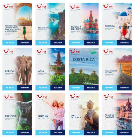 TUI refuerza su programación para 2021-2022 publicando nuevos catálogos de grandes viajes y monográficos - 1, Foto 1