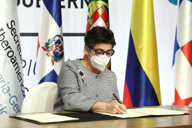 Ocho países iberoamericanos firman el Convenio marco para el impulso de la circulación del talento en el espacio iberoamericano - 1, Foto 1