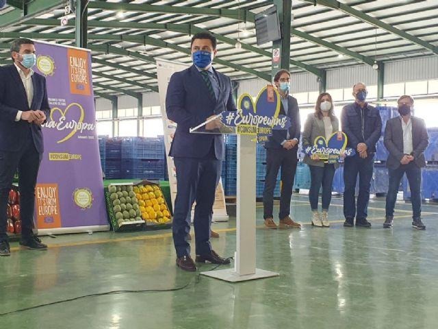 La campaña CuTE-4You , presentada hoy en San Javier , promociona el consumo de productos hortofrutícolas europeos - 1, Foto 1