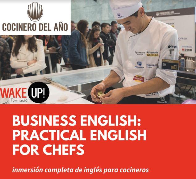 El Concurso Cocinero del Año lanza los primeros cursos de inglés para chefs a distancia - 1, Foto 1
