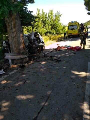Fallece el conductor de un turismo al chocar su vehículo contra un árbol, en Mula - 1, Foto 1