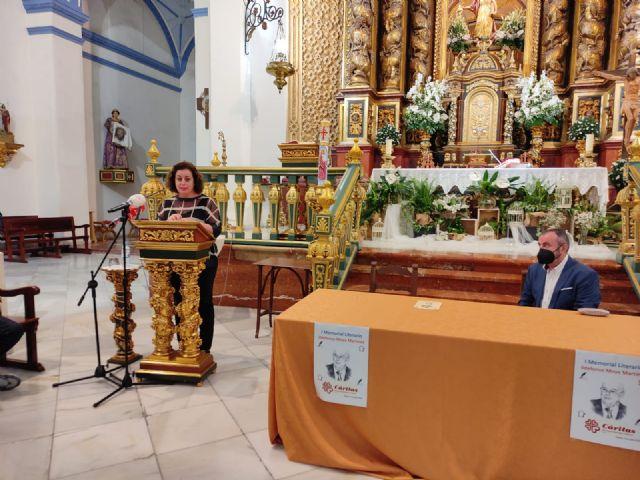 El periodista Gregorio J. Asensio y el profesor José Antonio Riquelme ganan el I Certamen Literario Memorial Ildefonso Moya de Totana, que ha organizado Cáritas de Santiago - 1