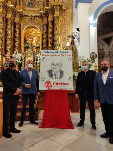 El periodista Gregorio J. Asensio y el profesor José Antonio Riquelme ganan el I Certamen Literario Memorial Ildefonso Moya de Totana, que ha organizado Cáritas de Santiago - 2
