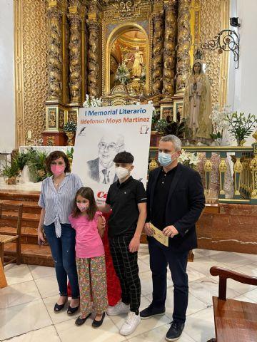 El periodista Gregorio J. Asensio y el profesor José Antonio Riquelme ganan el I Certamen Literario Memorial Ildefonso Moya de Totana, que ha organizado Cáritas de Santiago - 4