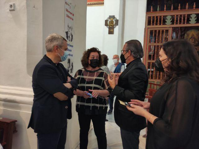 El periodista Gregorio J. Asensio y el profesor José Antonio Riquelme ganan el I Certamen Literario Memorial Ildefonso Moya de Totana, que ha organizado Cáritas de Santiago - 5