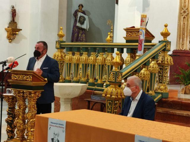 El periodista Gregorio J. Asensio y el profesor José Antonio Riquelme ganan el I Certamen Literario Memorial Ildefonso Moya de Totana, que ha organizado Cáritas de Santiago - 11