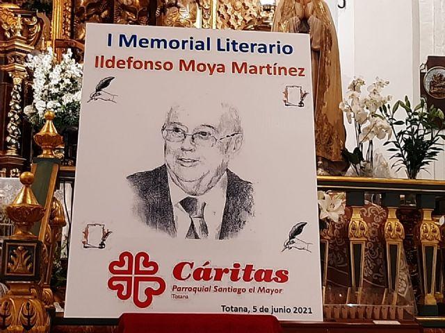 El periodista Gregorio J. Asensio y el profesor José Antonio Riquelme ganan el I Certamen Literario Memorial Ildefonso Moya de Totana, que ha organizado Cáritas de Santiago - 12